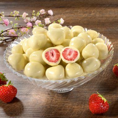 """Erdbeeren mit """"Sahne"""""""