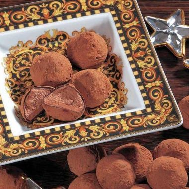 Cacao-Trufflés
