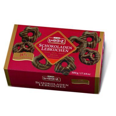 Schokoladen Lebkuchen 500g Zartbitter